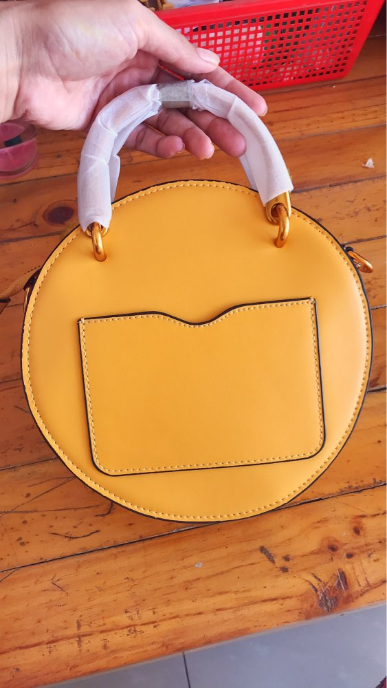 Brand Luxury Women's Genuine Leather Handbags Brown Wristlet Bag for Women 2019 New Top-Handle Bags Famous Lady's Crossbody Bag photo review