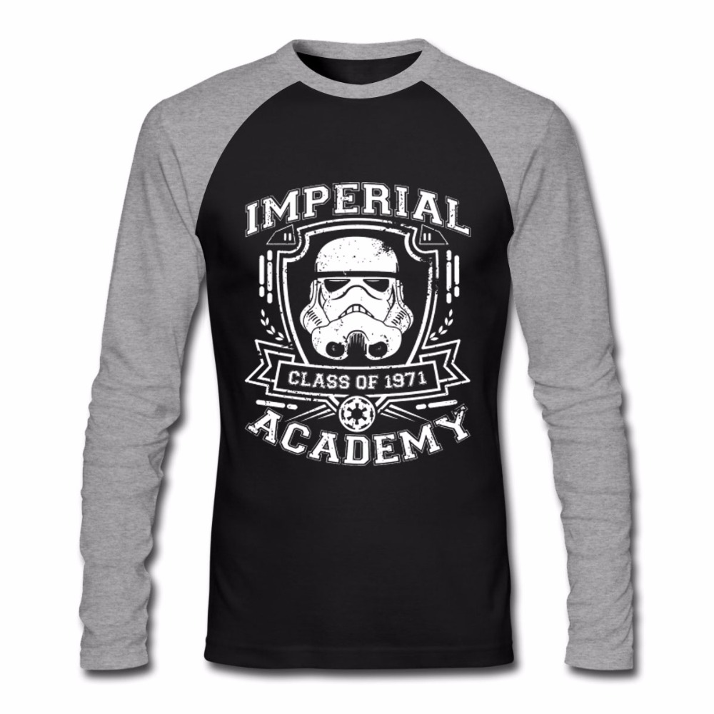 men women cotton t shirts stormtrooper imperial academy graphic t shirt schwarz star wars christmas gift brand tops couple tees in t shirts from mens