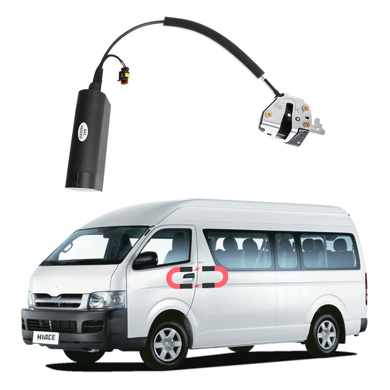 NEW For Toyota Hiace Electric Suction Door Automobile Refitted Automatic Locks Car Accessories Intelligence Suction Door