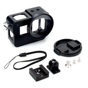 Image 5 - EACHSHOT Aluminium Alloy Skeleton Thick Solid Protective Case Shell with 52mm Uv Filter for Gopro Hero 7 6 5 Camera