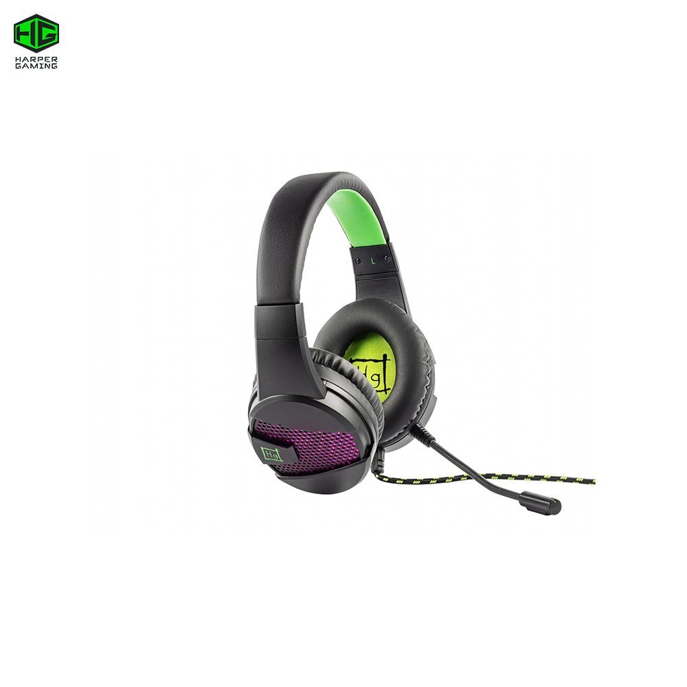 PC Computer Gaming Headset GHS-X15 Raster cyber sports carprie new replacement atx motherboard switch on off reset power cable for pc computer 17aug23 dropshipping
