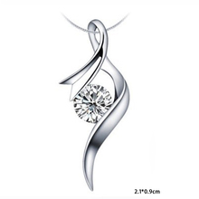 New Arrival Sliver Plated Chic Round Pendant Necklace Without Chain Diy Accessories Women Charm Jewelry NL-0693