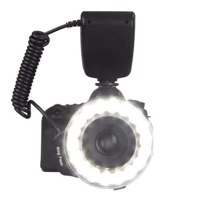 EACHSHOT RF 600D 18 LED Macro led Ring Flash Veelzijdige Verlichting ...