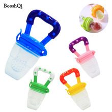 10pcs/lot Baby Pacifier Food Feeder Silicone Fresh Fruit Milk Nibbler Feeding Safe Kids Supplies Nipple Teat Pacifier Bottles