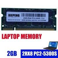 Portátil ram 2 gb 2rx8 PC2-5300S ddr2 4gb 667 mhz 2g pc2 5300 para macbook a1181 mb062 mb063 mb402 mb403 md404 mb133 mb134 notebook