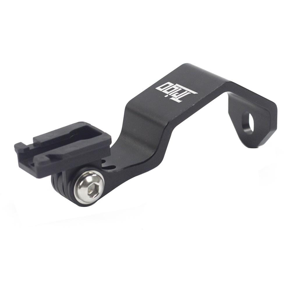 Cycling Headlight Mount Front Fork Sport Camera Holder For Brompton 3sixty Folding Bike Road fit Gopro Cateye Gaciron Niterider