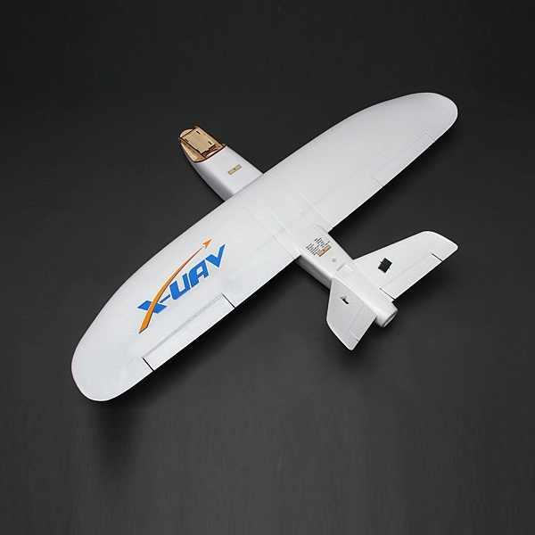 X-Uav Mini Talon EPO Sải Cánh 1300Mm Đuôi V FPV Rc Mô Hình Máy Bay Máy Bay Bộ