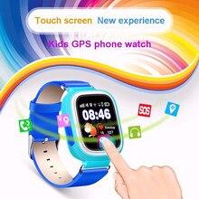 Melhor Crianças Relógio Inteligente Bluetooth Banda Inteligente Seguro Monitor GPS GPRS Wifi 2g Relógio Cartão SIM do Smartphone Para Crianças do Presente do bebê