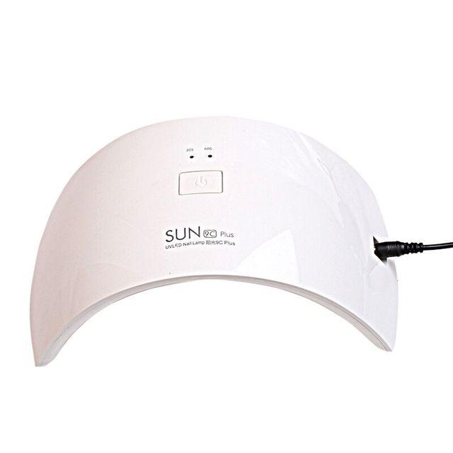 36 ワット led ランプ LED ランプ SUN9c プラス UV ランプ爪ネイルドライヤーですべてのゲル 30 s/60 s ネイルドライヤー