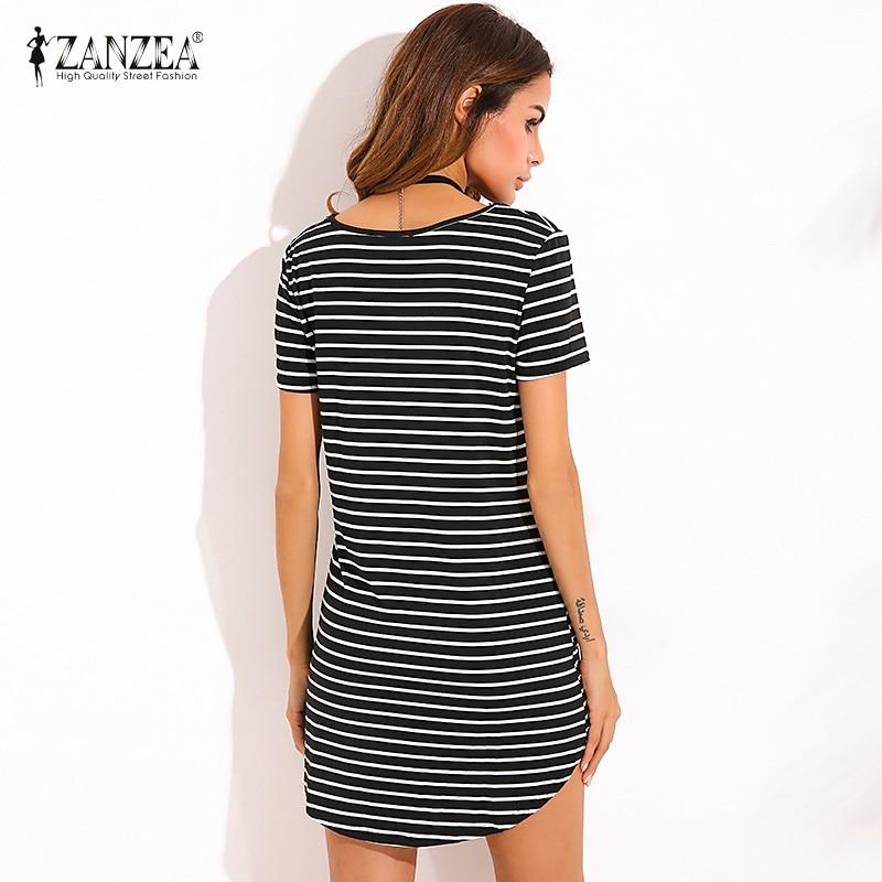 ZANZEA 4 Кольори Літо 2019 Новий Жіночий - Жіночий одяг - фото 2