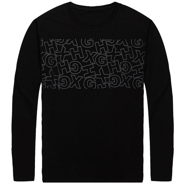 e72d51de PLUS size 10XL 9XL 8XL 7XL 6XL 5XL 4XL Long Sleeve T-shirt men  Environmental Friendly Print T Shirt male Casual fashion Tshirt