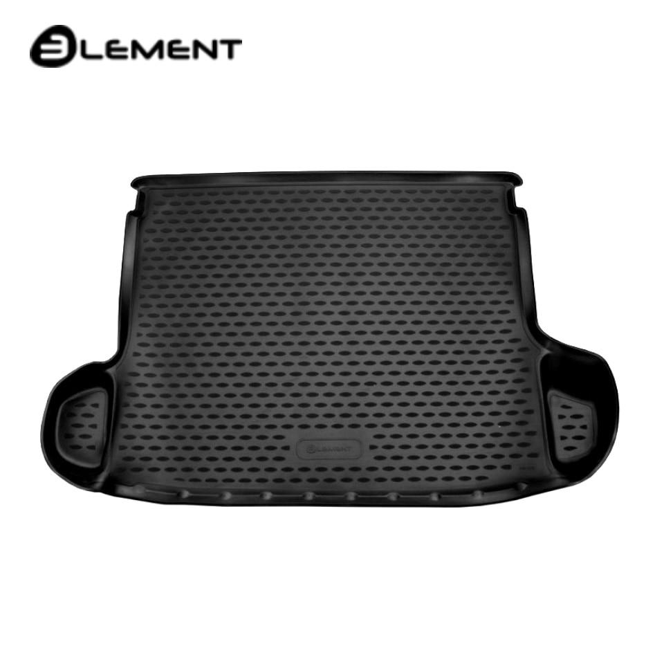 For Hyundai Creta 2016-2019 car trunk mat Element ELEMENT2062B10 waterproof anti slip car trunk mat protector cover car pet dog mat for hyundai tucson black
