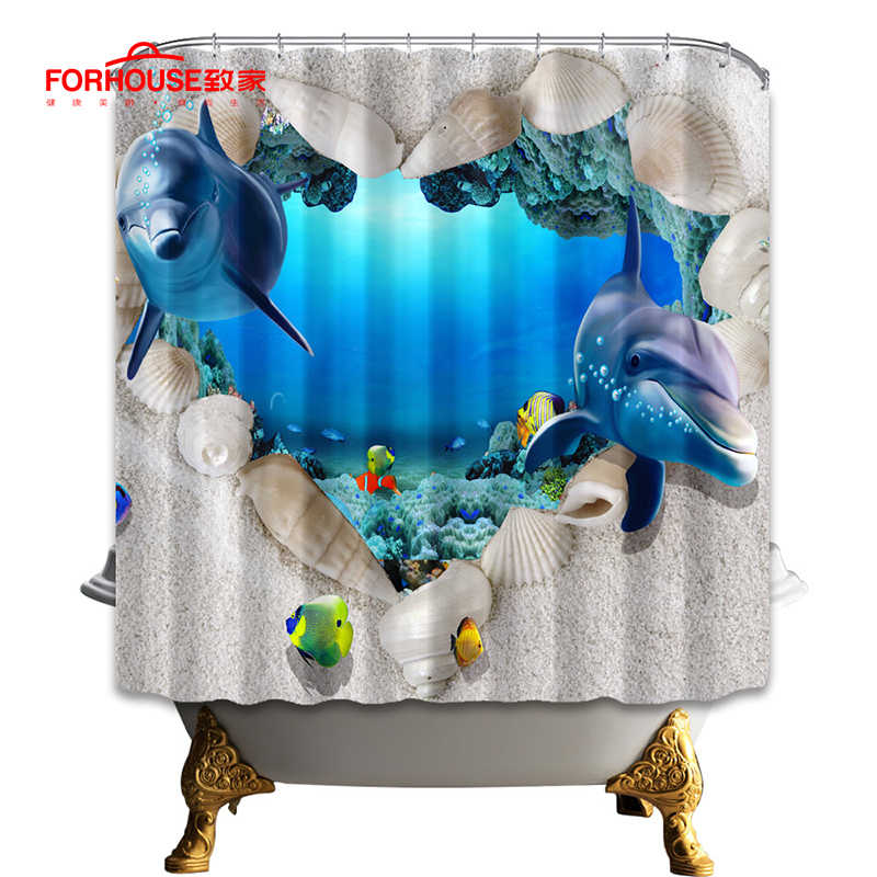 دش الستار مقاوم للماء البوليستر النسيج الطباعة للحمام دش البوليستر مع 12 السنانير 180X180 سم