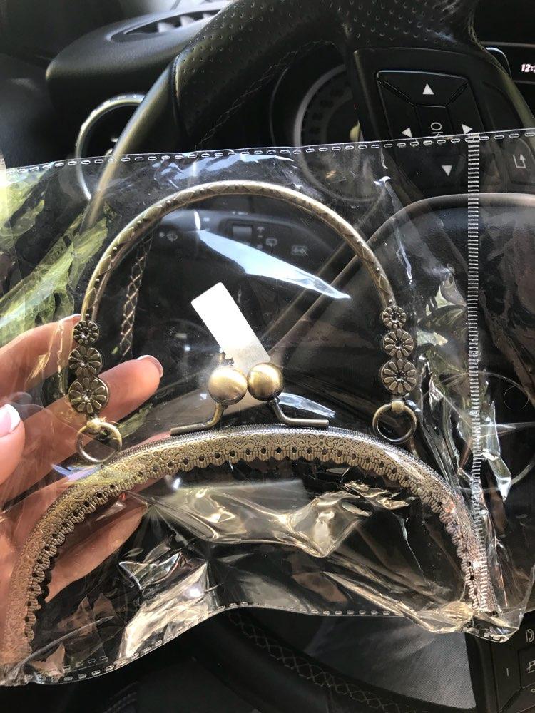 2019 DIY Craft 16.5cm Metalen Handvat Handvat Frame Kus Sluiting Handvat Boog Voor DIY Purse Tas Mode 2 Size Nieuwe Mode Handvat photo review