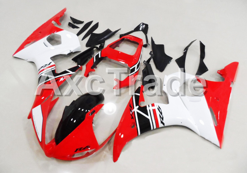 Motorcycle Fairings For Yamaha YZF600 YZF 600 R6 YZF-R6 2003 2004 2005 03 04 05 ABS Injection Molding Fairing Bodywork Kit B406 hot sales 2005 r6 fairings for yamaha yzf r6 05 yzf r6 05 yzf 600 r6 yzf r6 red fiat abs fairing set injection molding