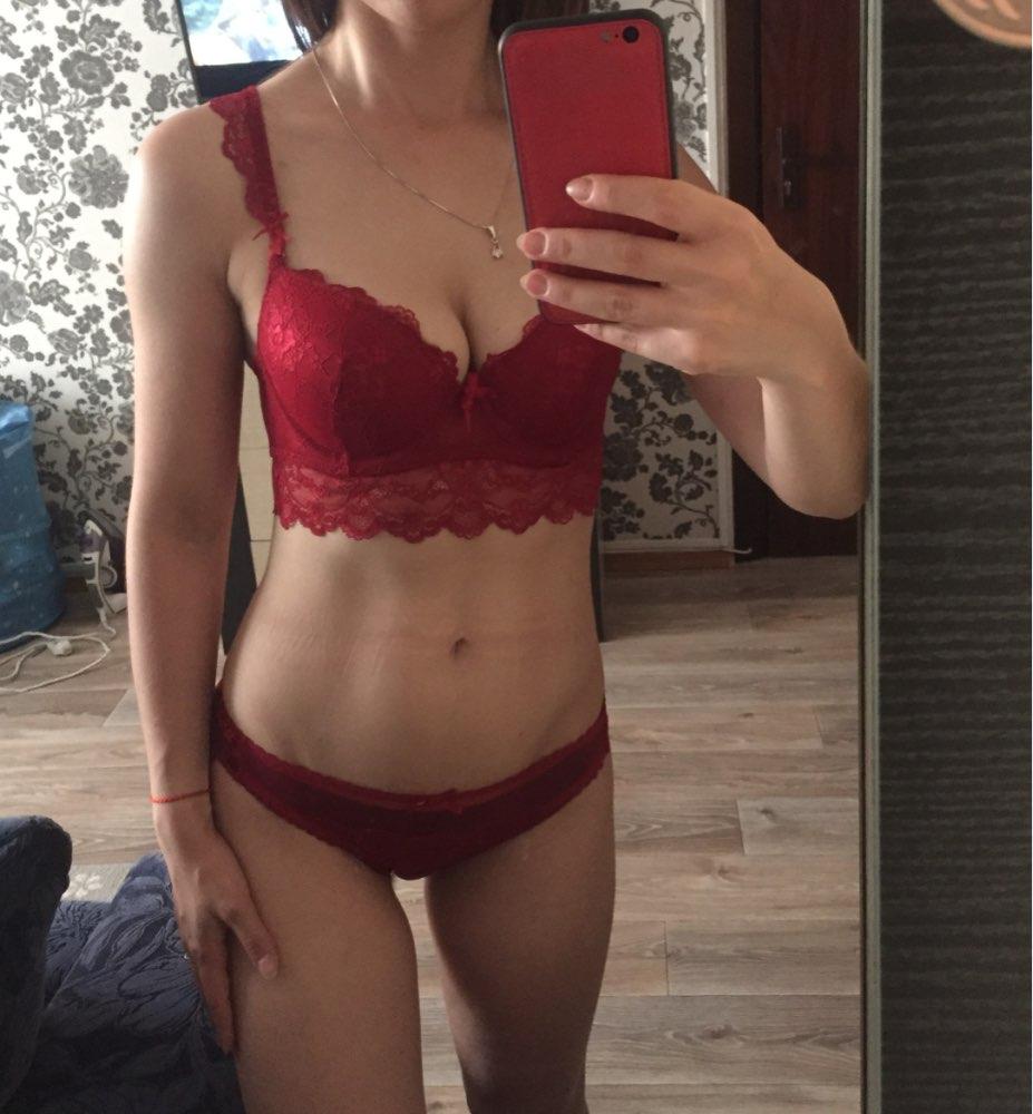 Free shipping Fashion autumn and winter underwear female sexy lace adjustable bra set thin plus size push up bra set