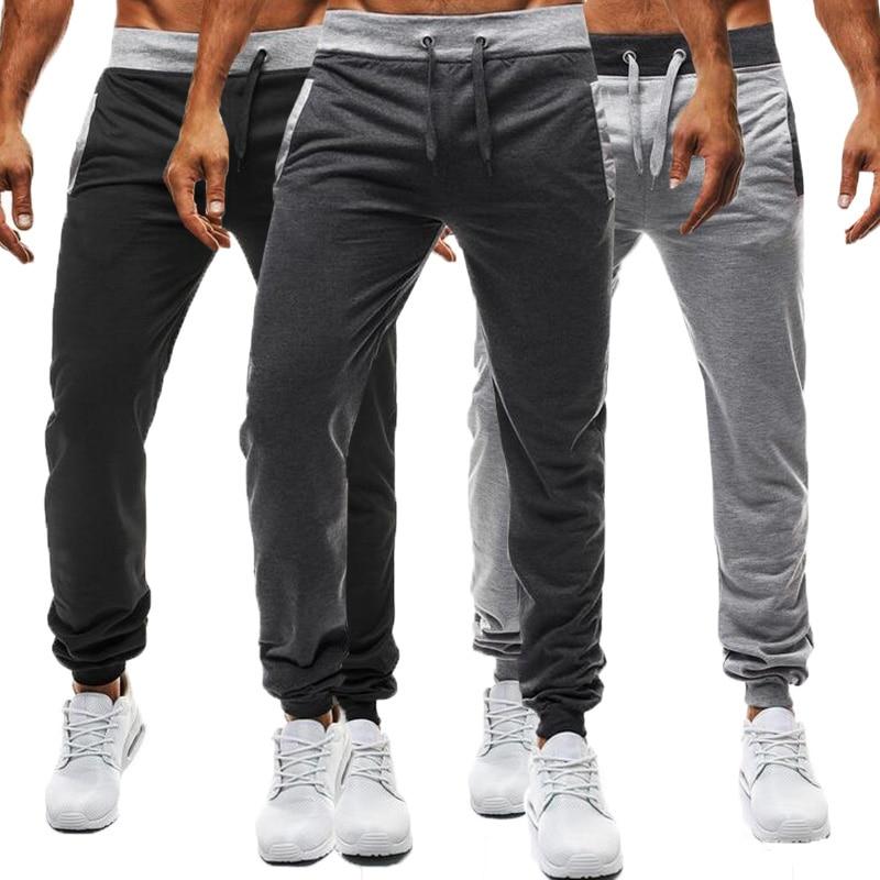 INCERUN 2018 Autumn Men s Casual Joggers Plain Sweatpants Trousers For Men Gyms clothing Male Slim