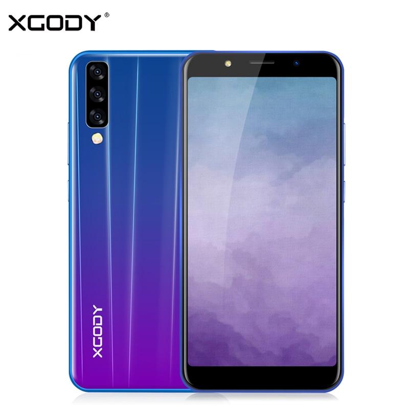 XGODY P20 Pro 3G Smartphone 6 18:9 Plein Écran Intelligent Android 8.1 Celular Quad Core 2 GB + 16 GB 2500 mAh 5MP Caméra téléphone portable GPS