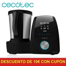 Cocotec Robot de Cocina Multifunción Mambo Black. Con 23 Funciones, Pantalla Digital, Jarra de acero inoxidable de 3, 3л., 10