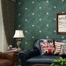 Europe Flower 3d Vintage Wallpaper Retro Non-woven Wallpapers Floral Embossed Wall Papers Roll 10m Living Room Decoration EZ007 american style rustic blue wallpaper roll vintage floral non woven butterfly wall paper bedroom wallpapers flower wall decals 3d