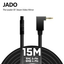 JADO Posteriore Della Macchina Fotografica del Cavo di Estensione Di D230 D820s D230Pro Lunghezza 15 M (4-Spille Per BMB) e (5-Spille Per BMC)