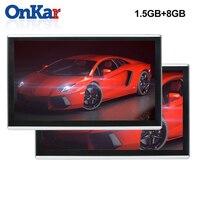 ONKAR монитор подголовника Android с 11,6 дюймов 2.5D ips сенсорный экран 1920*1080 HD 1080 P Поддержка зеркального соединения wifi FM радио sd HDMI