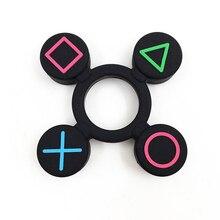 Geometric Fidget Silicone Hand Spinner Finger Toy EDC Focus Fingertip Gyro Gift
