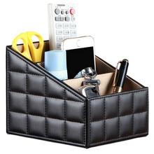 Smink Desktop Storage Box Szervező Iroda Tárolódoboz Nappali Mobil Távirányító Élelmiszer Regisztrációs Box