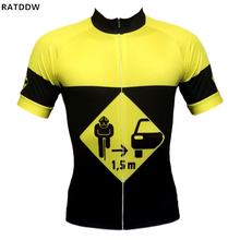 1.5 m Sportswear Men's Cycling Jersey Short Sleeves Bike Wear Breathable Cycling Bicycle Clothing Clothes Bicycle Clothes