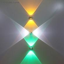 Бра Настенные светильники 6 Вт 10 Вт светодиодный настенный светильник кристалл алюминий горячая распродажа высокое качество
