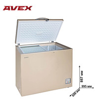 Морозильный ларь AVEX CFS-250 G Gold,  объем 232 л