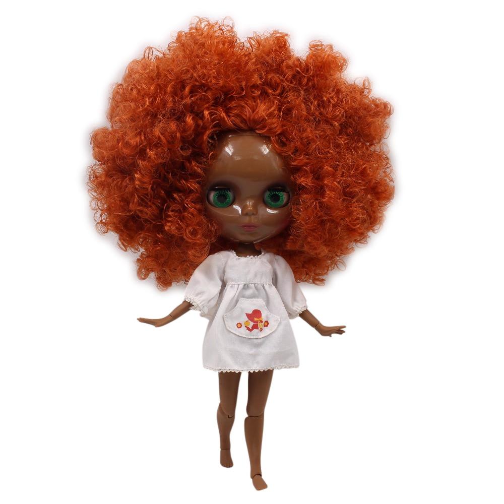 fortune days factory blyth doll super black skin tone darkest skin brown hair 280BL2231/2237 joint body 1/6 30cm fortune days factory blyth doll super black skin tone darkest skin dark brown hair joint body 1 6 30cm bl0521