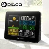 Digoo DG TH8868 Wireless Full Color Screen Barometric Pressure Weather Station Hygrometer Thermometer Forecast Sensor Clock
