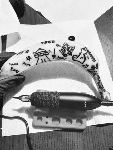 Tattoo Kit Professional Tattoo Rotary Pen Machine Set Permanent Makeup Cartridge Needle Tattoo Body Art