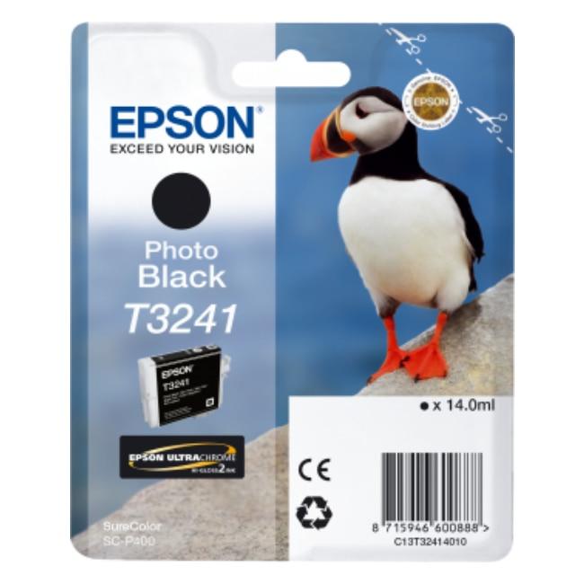 Epson T3241 фото черный оригинал краска на основе чернил SureColor SC P400 1 шт (ы)