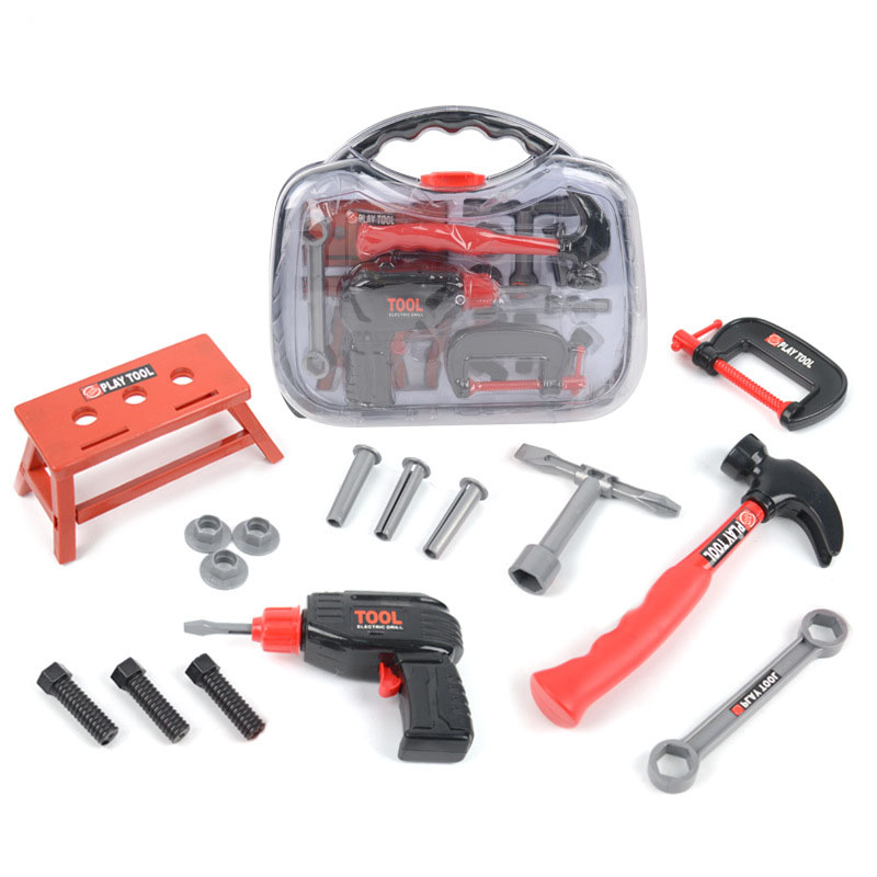 Outil de réparation Jouet Herramientas para carpinteria Juguetes para los ni os outils de Construction Jouet garcon jouets pour enfants garçons Jouet