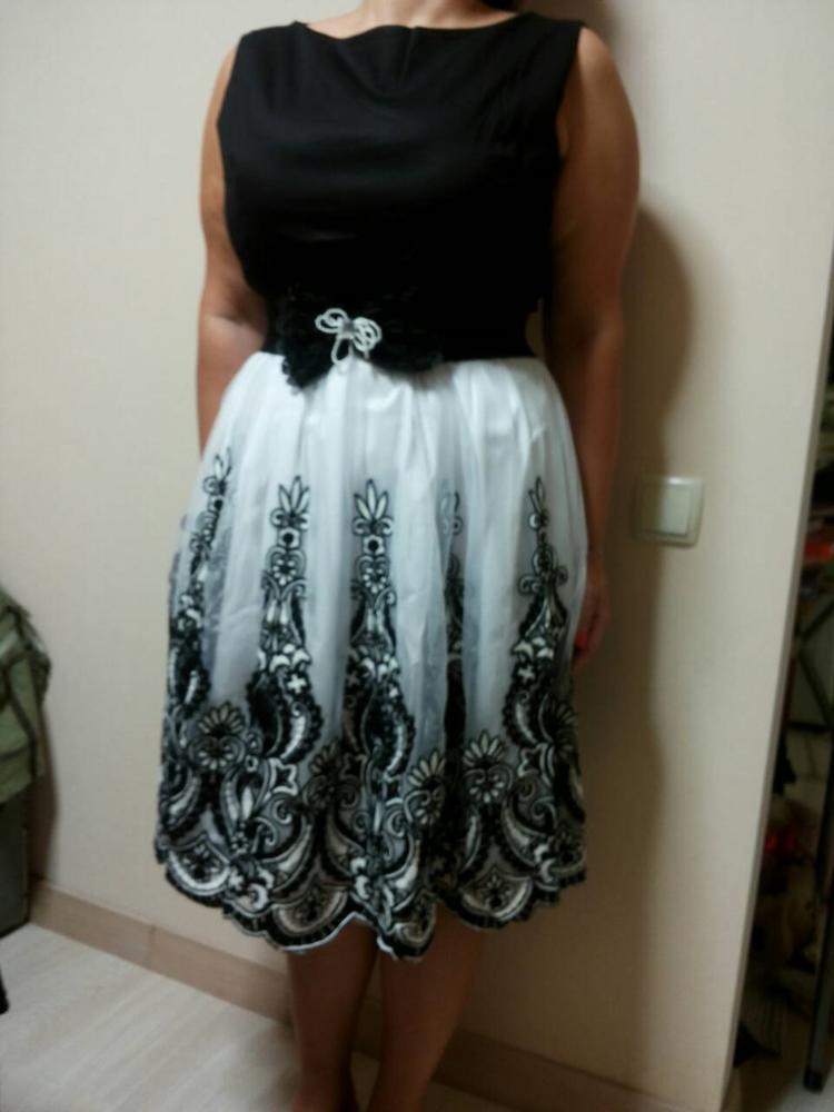 Sisjuly women vintage 1950s style dresses floral print party dress ...