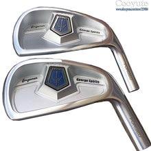 New mens Cooyute Golf heads George spirits Grand Empero White Golf heads head set 4-10 Golf Club heads no shaft Free shipping
