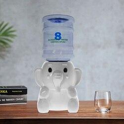2.5 litros de capacidade para um dia elefante mini dispensador de água 8 óculos água verres d'eau quarto do miúdo animal decoração desktop