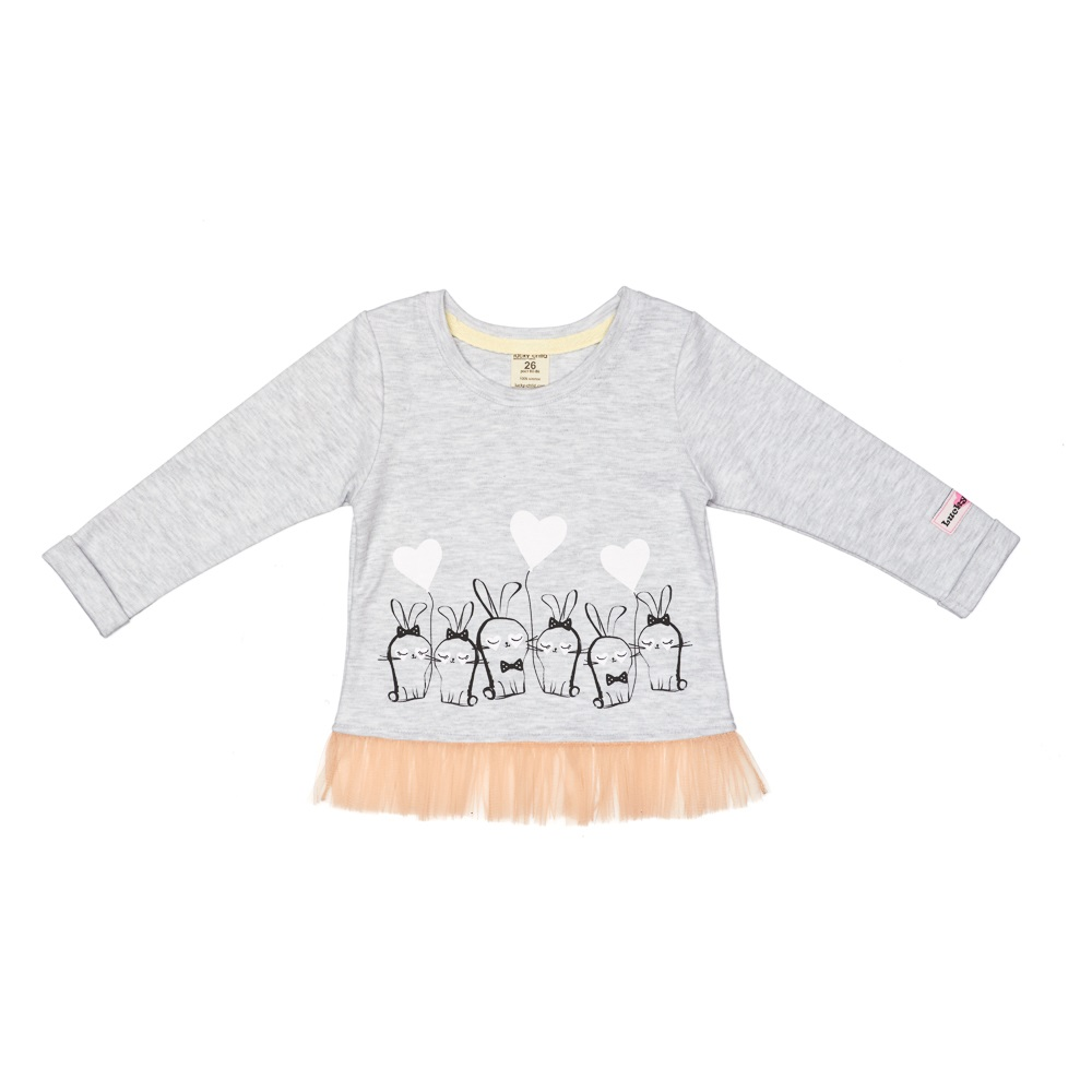 Фото - Hoodies & Sweatshirt Lucky Child for girls and boys 54-19 Kids Children clothes Jersey Blouse contrast lace keyhole back blouse