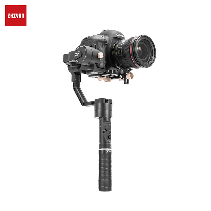 ZHIYUN Crane Plus Handheld 3-Axis Stabilizer for DSLRs Camera Support POV Mode jj 1s 2 axis brushless handheld phone stabilizer 330 degree smartphone for gopro gimbal holder mount built in bluetooth