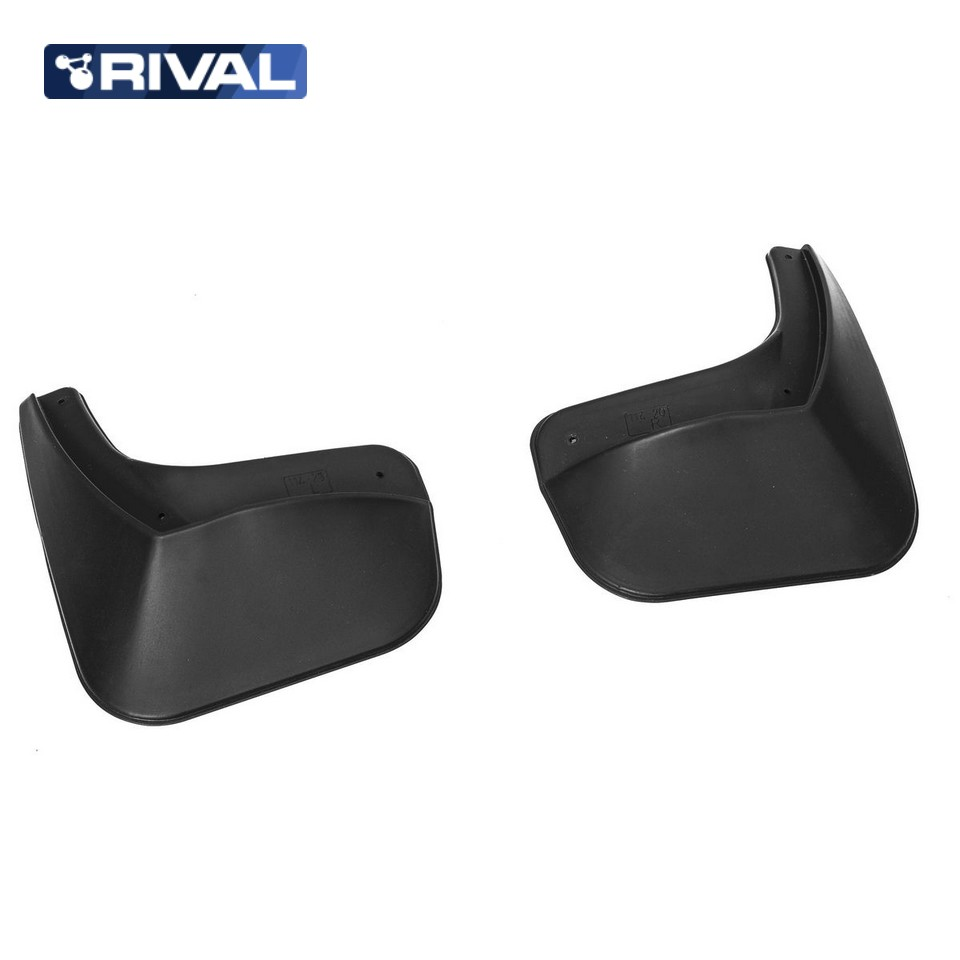 For Renault Logan 2014-2018 rear mudguards 2 pcs/set high quality Mud Flaps Splash Guard Rival 24702001 car mud flaps splash guard 4pcs plastic for bmw x5 e70 2008 2013