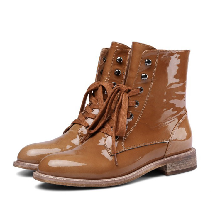 WOMENS LADIES BROWN BOOTS ANKLE BOOTS CAMEL COLOUR ZIP UP BOOTS SHOES
