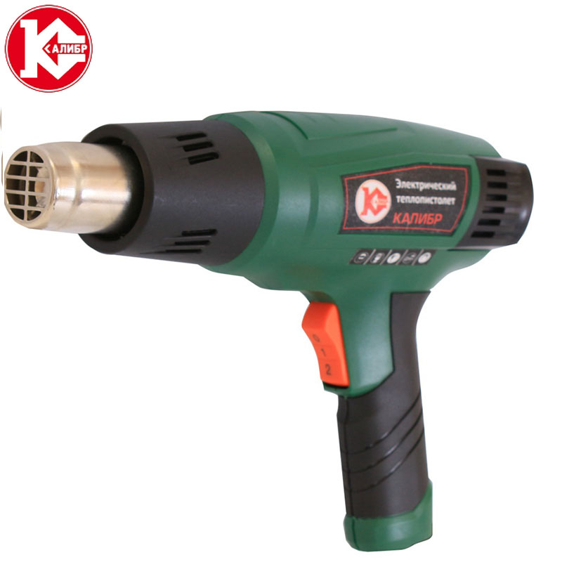 Kalibr TP-2050 PROMO Thermoregulator Heat Guns  Industrial Electric Hot Air Gun Shrink Wrapping Thermal Heater Nozzle dgks 1 13 20w eu electric plug hot melt glue gun 7mm glue stick industrial mini guns thermo electric heat temperature tool