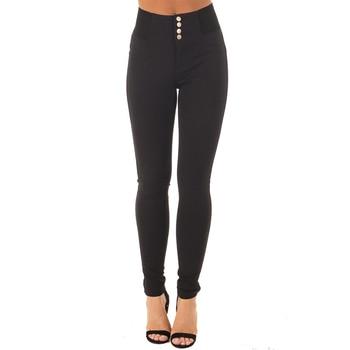 High Elastic Waist Casual Strech Skinny Basic Pant