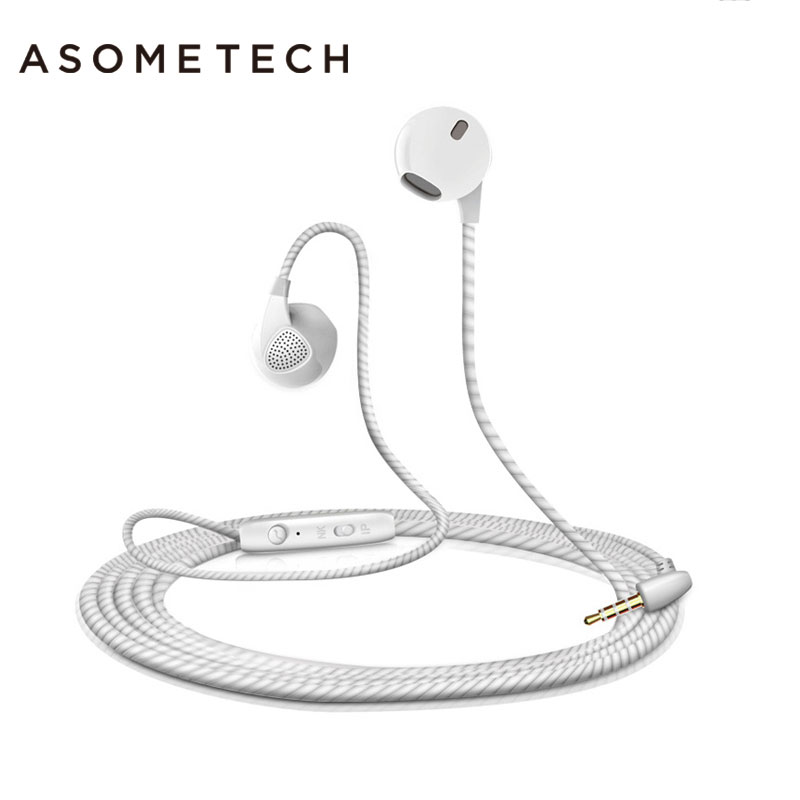Hot Sport Earpieces With Microphone 3.5mm Super Bass Stereo Earphone For iPhone 6 6S 5 5S Music Earpieces Running Wired Headset rock y10 stereo headphone earphone microphone stereo bass wired headset for music computer game with mic