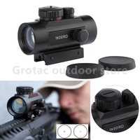 Tactique 1X30 holographique point vue Airsoft rouge vert point vue optique chasse portée 11mm 20mm Rail Mount collimateur vue