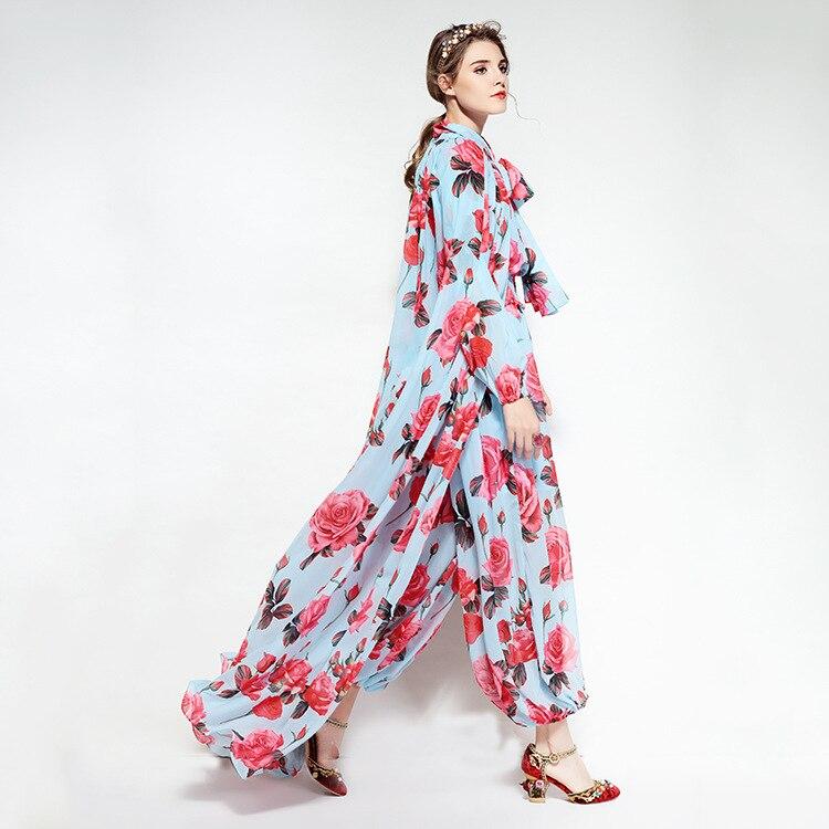 De Avec Fleurs Capes Barboteuses 80160 Bleu Et Body Ciel Imprimer The As Cavaliers Femme Femmes Picture Mode Combinaison Des 2018 7gnw570vq