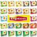 Липтон турецкий яблочный чай зеленый чай Тонкий Травяной чай фруктовый чай (4 коробки X 20 мешков)