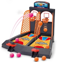 Best Selling Desktop Mini Toy Kid Board Game Funny Tabletop Pop-Up Baskball Toy Set Children Party Gift Toys for Children